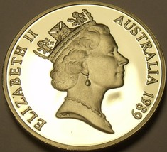 Cameo Proof Australia 1989 5 Cents~Echidna~67,000 Minted~Proofs Are Best~Fr/Ship - $7.42