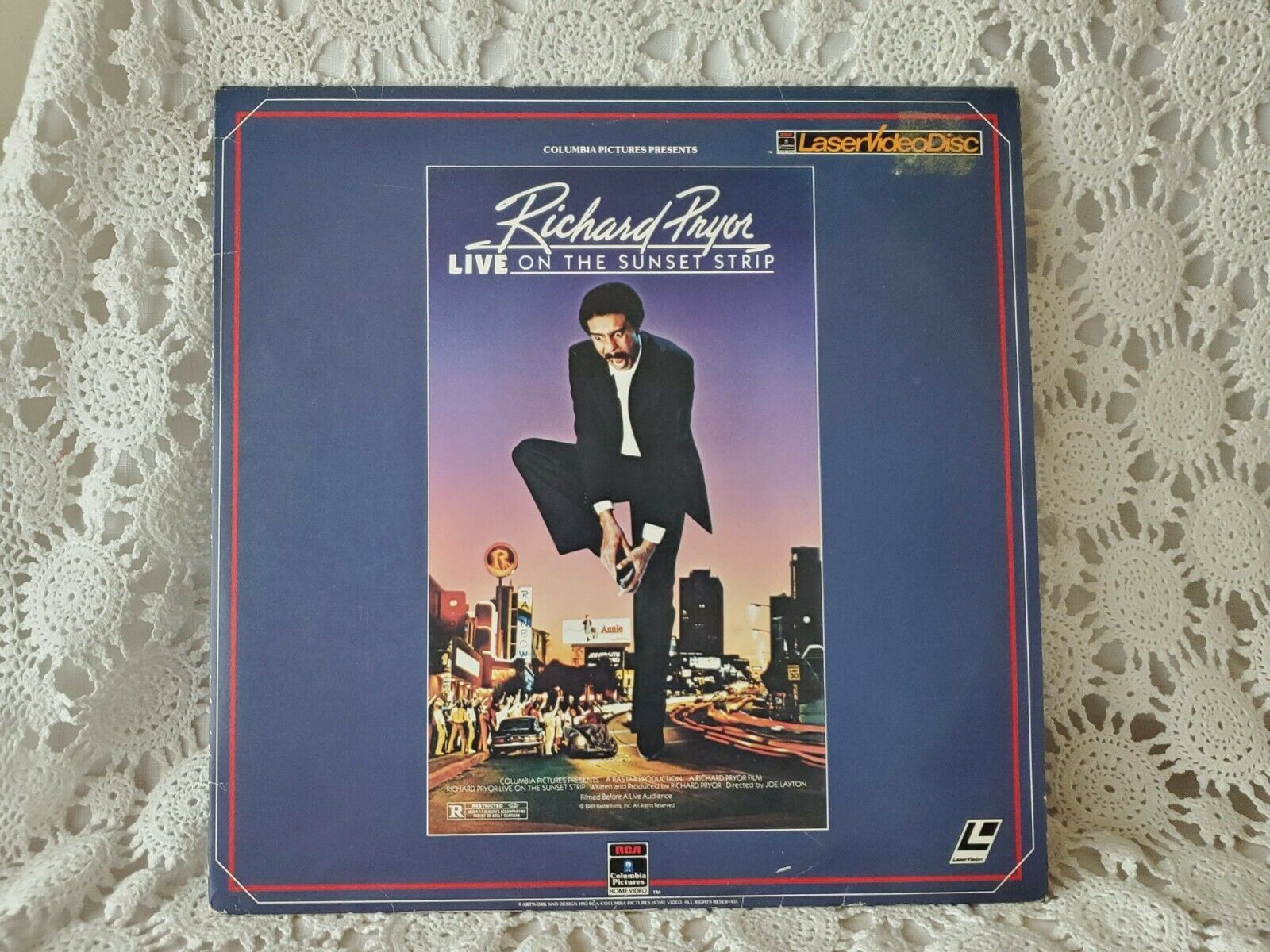 Primary image for Richard Pryor Live On The Sun Set Strip Laser Disc Movie 1982 Vintage #1
