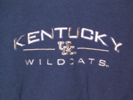 Kentucky Wildcats embroidered KENTUCKY sweatshirt style crewneck size M - $39.99