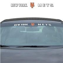 "NEW YORK METS 35"" X 4"" WINDSHIELD WINDOW DECAL CAR TRUCK MLB BASEBALL - $21.40"