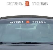 """DETROIT TIGERS 35"""" X 4"""" WINDSHIELD WINDOW DECAL CAR TRUCK MLB BASEBALL - $21.40"""
