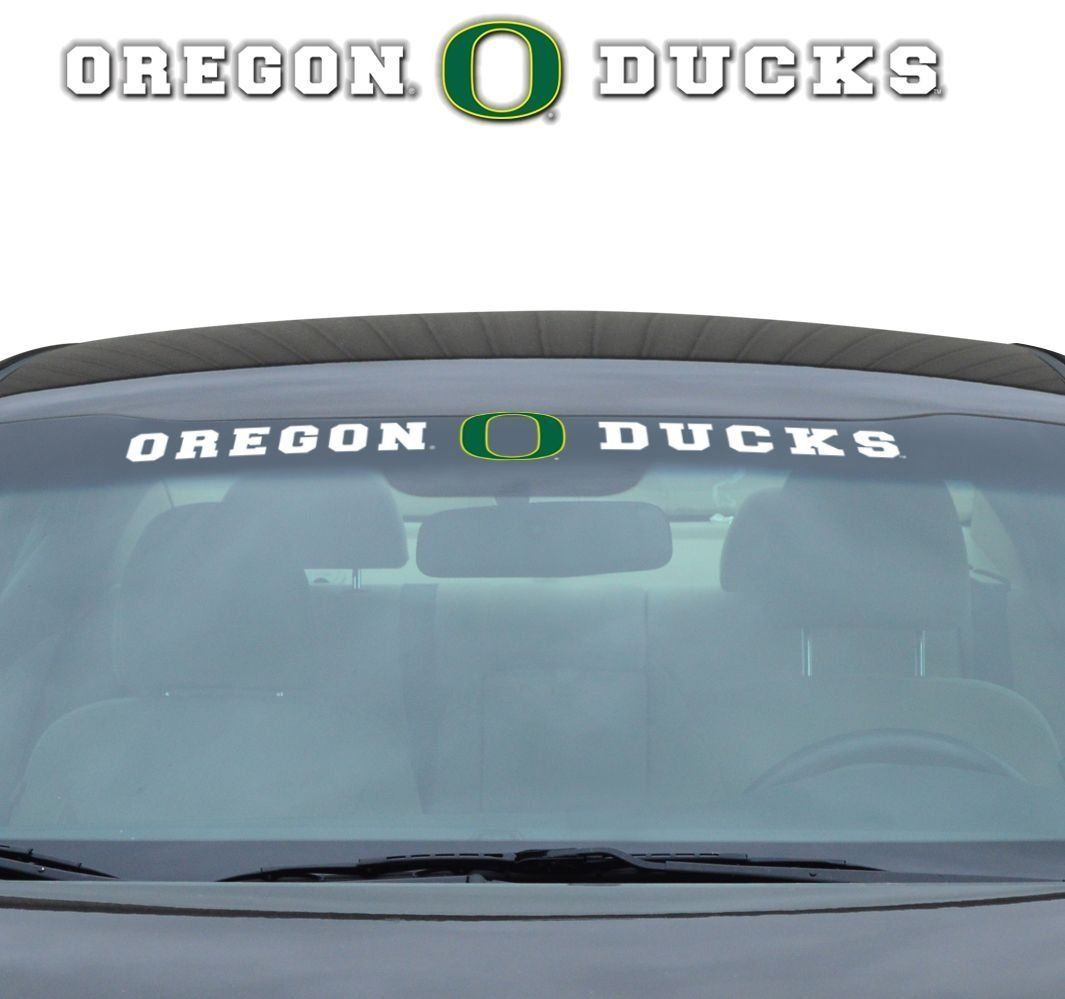 "OREGON DUCKS 35"" X 4"" WINDSHIELD - REAR WINDOW DECAL CAR TRUCK NCAA"