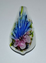 Vintage Murano Glass Flower Pendant  - $19.70