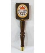 Redhook ale brewery nut brown irish beer tap handle men cave bar brown wood - $24.74