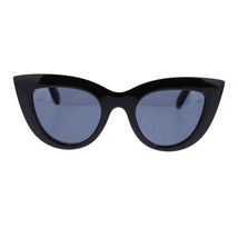 Diva Womens Nerdy Retro Hipster Normcore Thick Plastic Cat Eye Sunglasses - $9.95