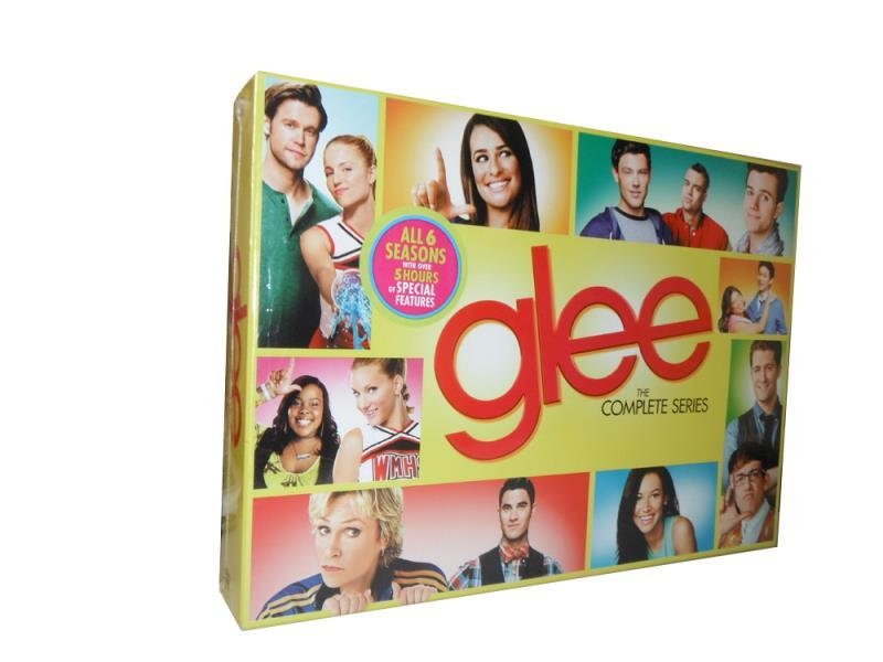 Glee The Complete Series Seasons 1-6 DVD Box Set 34 Disc Free Shipping