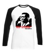 FRED HAMPTON - NEW COTTON BLACK SLEEVED TSHIRT - $27.40
