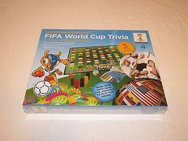 Fifa World Cup 2014 Trivia board Game Brazil official product NOS NEW 10... - $39.59