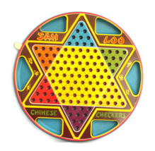 Double Sided Chinese Checkers - Jan Loo Tin in ... - $65.00