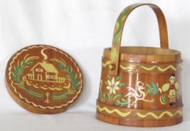 Hansel and Gretel Cookie Jar Bucket - Vintage H... - $85.00