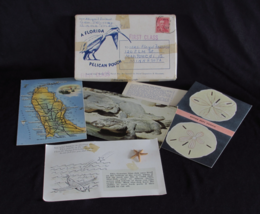 1930s Set of Five 5 Linen Florida Postcards by Tichnor and Gay Gifts - $55.00