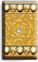 Greek Roman Victorian Pattern Phone Jack Telephone Wall Plate Cover House Decor - $9.89