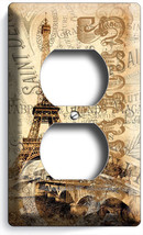 PARIS EIFFEL TOWER VINTAGE CARD DUPLEX OUTLET W... - $9.99
