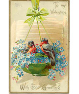 To My Valentine Tuck and Sons Vintage Post Card - $7.00