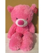 "Baby Gund Pink Lil Fuzzy Bear Plush 12"" w/ tag - $14.01"