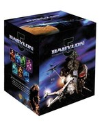 Babylon 5 Complete Collection TV Series + Movie Collection + Crusade DVD... - $139.50