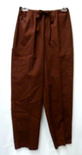 Fern Tan Jacket Cinnamon Scrub Pants Bottoms XS Scrub Set New image 11