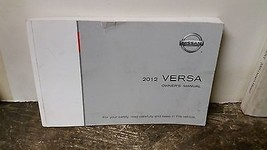 2012 Nissan Versa Owners Manual by Nissan - $28.70