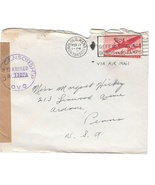 1943 WWII Censored Cover Honolulu Hawaii To US ... - $4.99