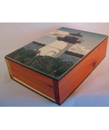 Wooden Box w/ Painted Lighthouse 10 Pound Islan... - $19.99