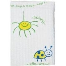 "Tidi Bugs & Things Towel, Poly Back, 2-ply Tissue, 10"" x 13"", 250/cs - $22.69"