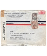 1942 Colombia Censored Commercial Cover Medellin to US Tape 4164 Sc 469 ... - $4.99
