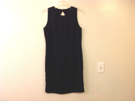 Liz Claiborne Women's Size 14 Little Black Dress Cocktail LBD Beaded Neck-Line