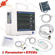 FDA&CE etCO2 Monitor Portable Vital Signs Patient Monitor 7 Parameter,Ca... - $1,286.01