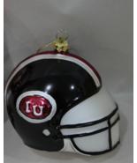 IU Glass Football Helment Christmas Ornament - $12.95