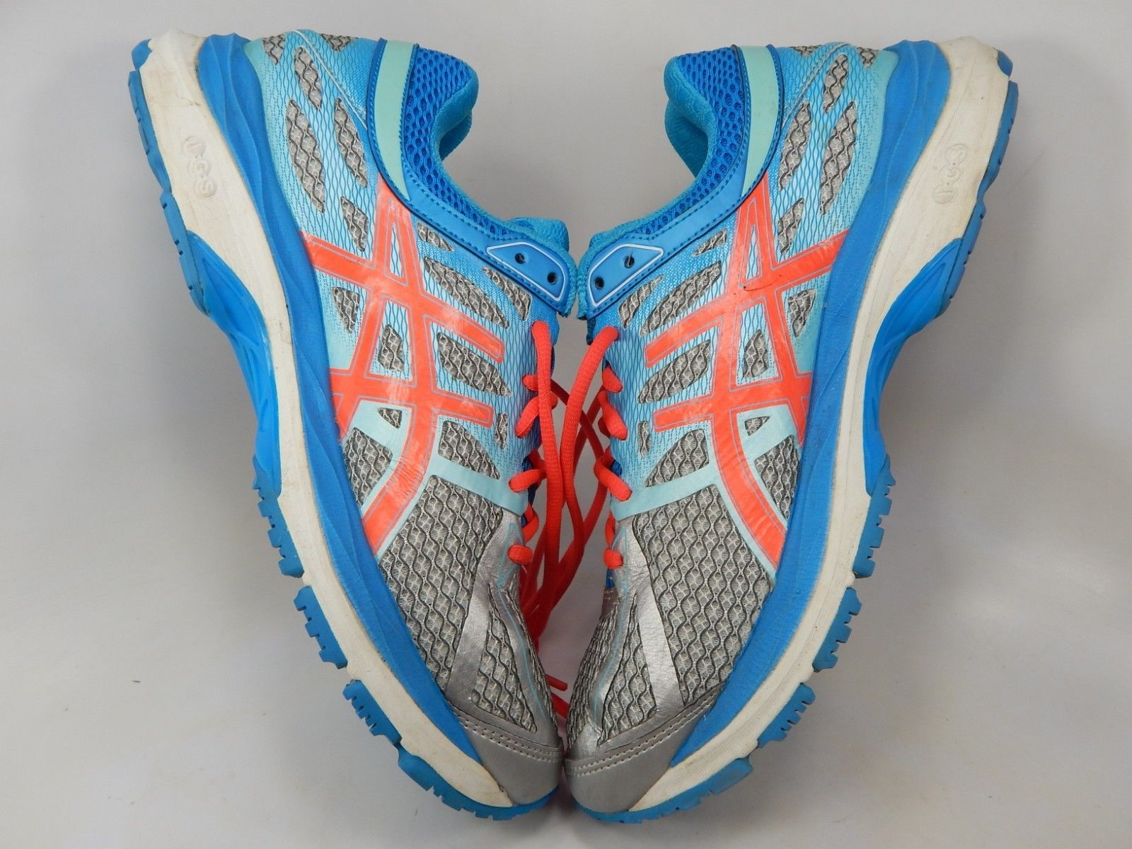 Asics Gel Cumulus 17 Sz 10 M (B) EU 42 Women's Running Shoes Silver Blue T5D8N