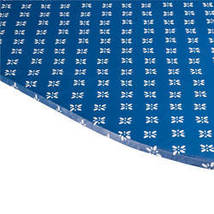 Heritage Vinyl Elasticized Table Cover By Home-Style Kitchen-42x68-Blue - $19.39