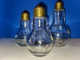 Vintage Lightbulb Size & Shaped Cannisters - $19.80