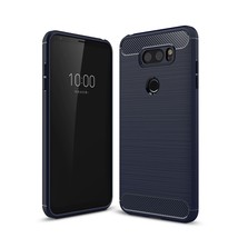 For LG V30 Case Shock-Absorption Flexible Soft Gel TPU Silicone Case Cover  - $14.71