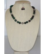 Ruby Kyanite Necklace and Earring Set - $33.00