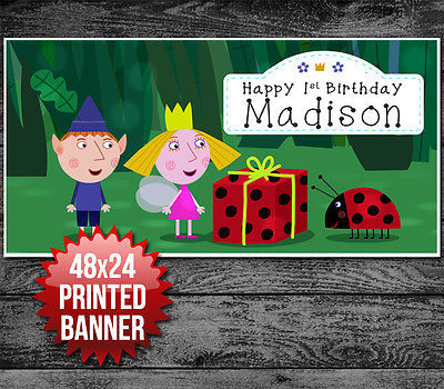 Ben And Holly Custom Personalized Birthday And 50 Similar Items