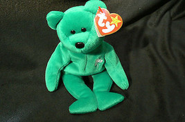 "Ty Original Beanie Baby "" Erin "" Errors New !997 Retired Kept in Display... - $346.50"