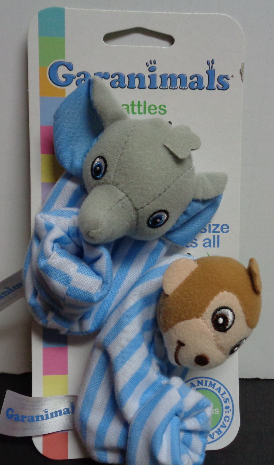 Garanimals Baby Rattle Booties Blue NWT 3 Months +