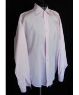 Beau Brummel Dress Shirt Button L Down Cotton Light  Pink Collar 15.5 VE... - $25.80