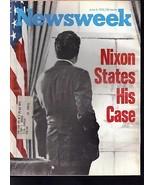 Newsweek Nixon States His Case June 4, 1973 - $24.74