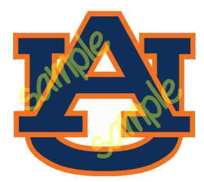 Auburn Logo Cut Designs Silhouette Cricut Designs Instant Download