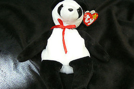 """Ty Original Beanie Baby """" Fortune """" Errors New !997 Retired Kept in Display Case image 3"""
