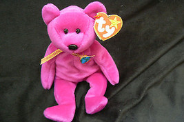 "Ty Original Beanie Baby "" Millennium "" Errors New !999 Retired Kept In Case - $841.50"