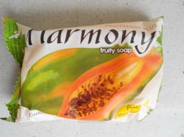 Harmony Fruity Soap Extra Moisturizer Enriched With Natural Papaya Extract 75g. - $4.99