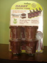 4 reusable single serve filter for single cup brewers ** BPA Free - $3.99