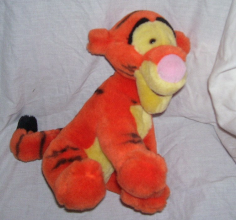 "Primary image for Disney Winnie the Pooh TIGGER Sitting Plush 11"" Tall"