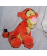 "Disney Winnie the Pooh TIGGER Sitting Plush 11"" Tall - $9.96"