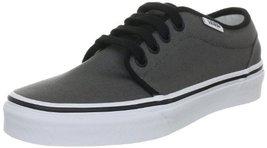 Vans Men's VANS 106 VULCANIZED SKATE SHOES 12 (BLACK/WHITE) image 2