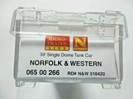 Micro-Trains # 06500266 Norfolk & Wester 39' Single Dome Tank N-Scale image 5