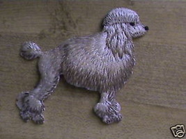 Poodle dog 100% embroidered patch emblem collectable - $14.25