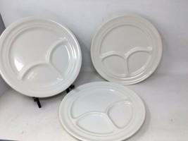Homer Laughlin Best China USA + Buffalo China USA Restaurant Ware Divided Plates - $33.24